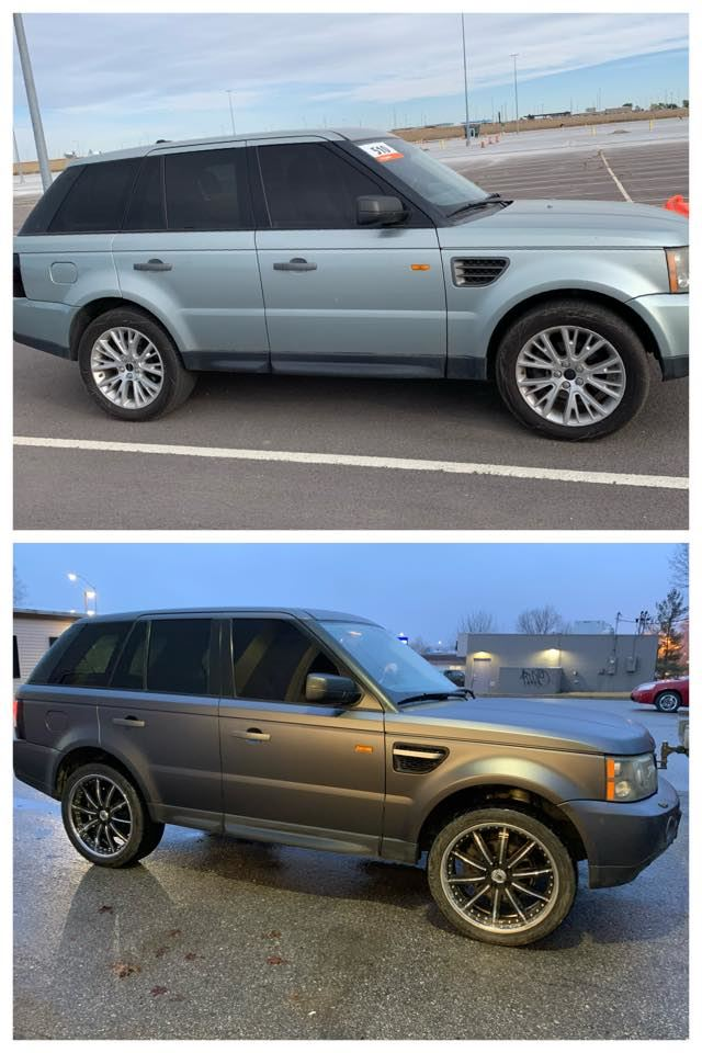 before and after SUV