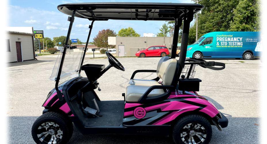 golf cart compressed