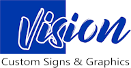 Vision Custom Signs and Graphic Logo